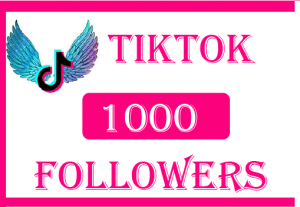1000+ TikTok Followers,Best quality , non drop and 100% Real