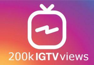 ADD you 200k IGTV views instant