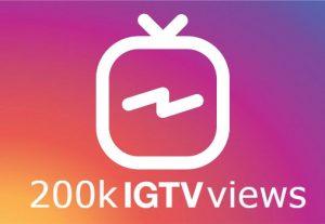 ADD you 500k IGTV views instant
