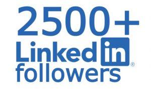 LinkedIn 2500+ followers none drop