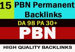 Build 15 PBN Permanent Backlinks DA 98 PA 30+ Tumblr to Improve SEO Boost Google