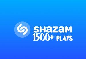 I will send you 1500+ Shazam Plays