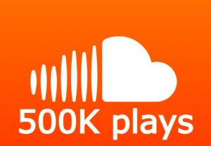 Send you high quality 500K SoundCloud plays