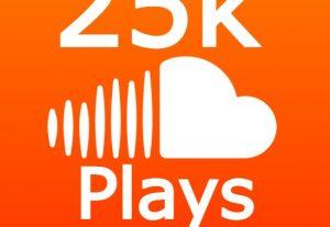 25K+ SOUNDCLOUD PLAYS + 150 LIKES +70 REPOSTS + 25 COMMENTS
