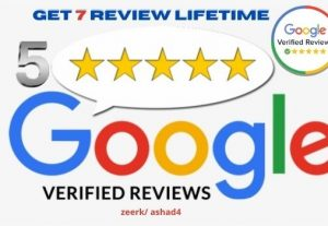 I will provide 7 Google Map Verified Customer Reviews From your targeted area.