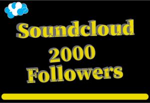 2000+ SoundCloud followers,100% real and lifetime permanent