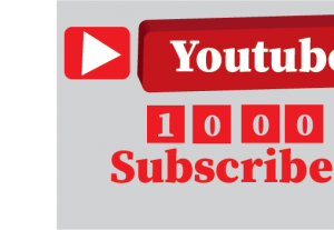 1000+ YouTube subscribers, non drop,100%real and organic