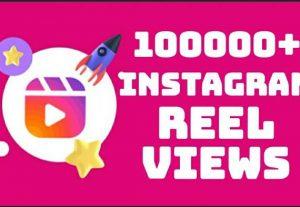 Add 100000+ Instagram REEL views instantly