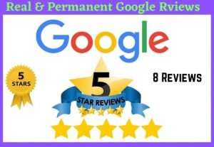 I will give 8 permanent verified google reviews