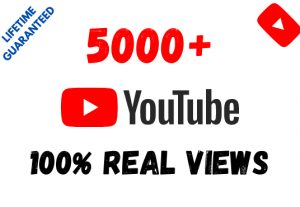 Get 5000+ YouTube 100% Real Views and 50 Likes