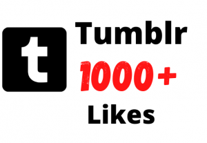 Get 1k+ Tumblr Likes, Real Active users, High Quality, Non Drop and Lifetime Guaranteed