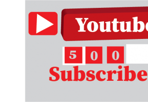 500+youtube subscribers, non drop,100% real and organic
