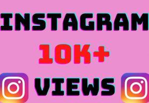 I will add 10k+ Instagram video views