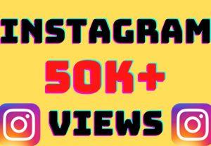 I will add 50k+ Instagram video views