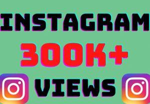 I will add 300k+ Instagram video views