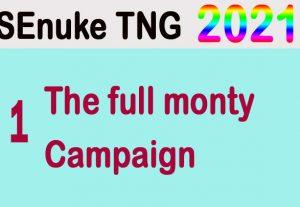 SEnuke TNG The full monty 2021 campaign