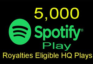 Get 5,000 Real Spotify Play Music Advertisement Promotion From A+ Countries