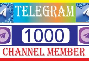 Provide your telegram 1000+ channel members. best quality, non-drop, 100% real and organic