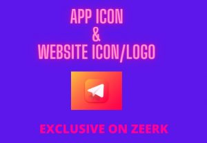 I will create App or website icons