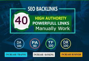 I Will Create High Quality 40 PR9 SEO Backlink