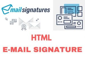 I will Provide create an email signature or clickable email signature