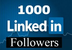 Do organic LinkedIn promotion to over 1k real LinkedIn audience
