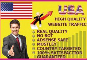 I will send 10,000 keyword target real USA website traffic