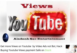 Increase 2000 views +500 likes  youtube video ads not bot