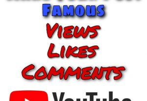 Get 5000+ Views + 100+ Likes & 15+ Comments on your YouTube post and get Famous !