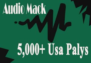 Add 5,000+ Audio Mack USA Plays Promotion To Your Track On Artist