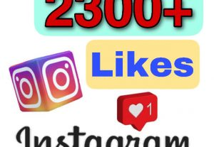 Get 2300+ Likes on your Instagram Photo or Video post. Instant start, Fast delivery & Non drop !