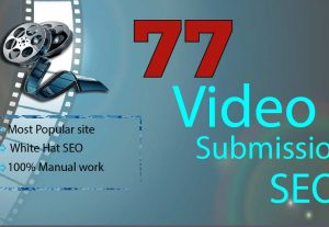 77 Most Popular Video Submission Permanent Backlinks