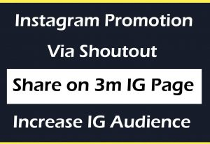 Get 3000+ Instagram Followers via Shoutout for only $9