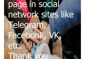 I will help you prepare  community page in social media