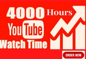 Youtube 4k WatchTime in just 28$