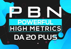 Get Super Powerful 25 Permanent Homepage PBN Backlinks on DA 20+ Powerful Rank Booster