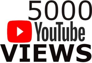 i will send you 5000 YouTube Views