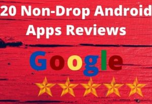 I will give you 20 Non-Drop apps review