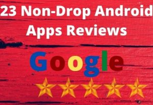 I will Provide You with 23 Local Guide Review for Your apps (Permanent)