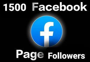 Get 1500 Facebook page Followers