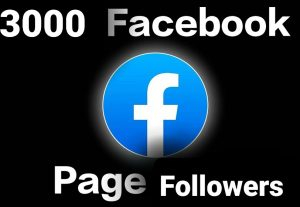 Get 3000 Facebook page followers