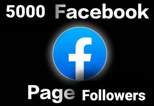 Get 5000 Facebook page followers