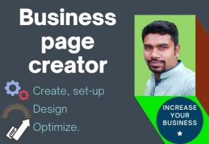 I will set-up, develop and optimize professional Facebook business or fan page
