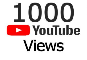 High retention 1000 youtube real views