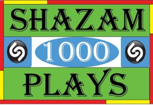 Provide your shazam 1000 organic plays. High quality, non drop and lifetime guarantee
