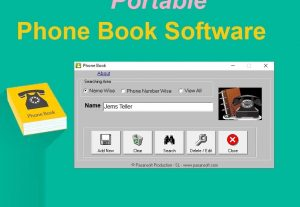 Phone Book Portable Software for Windows PC