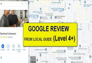 10 Google Reviews From Level 4+ Account (Local Guide)