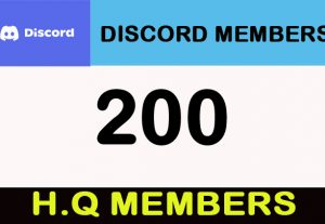 200 Discord H.Q Members/Invites