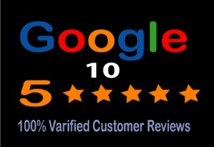 I will provide 5 stat 10 Google reviews for you.