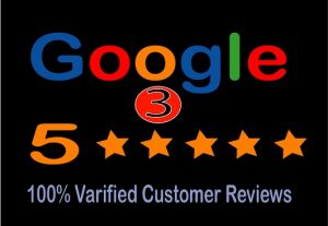 I will provide 5 stat 3 Google reviews for you.